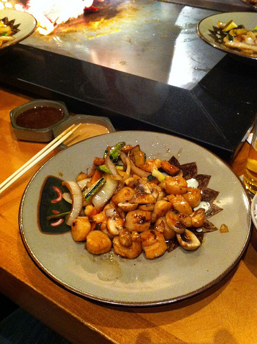 benihana food
